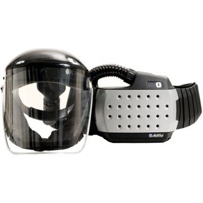 3M Adflo Powered Air Purifying Respirator High Efficiency Organic Vapor-Acid Gas (OV/SD/CL/HC) System, Welding Safety 16-3301-40, with 3M ClearVisor High Efficiency