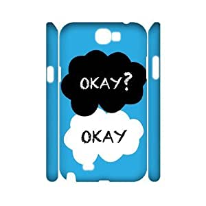 case Of Okay Okay Customized Hard Case For Samsung Galaxy Note 2 N7100