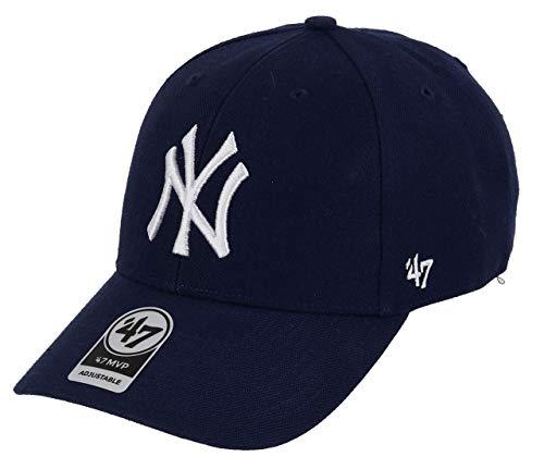 MLB Brand marino New de Azul marino única Gorra Yankees 47 curva MVP York de Talla azul claro 7EwOOU8q