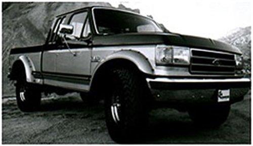Bushwacker 20018-11 Ford Cut-Out Fender Flare - Rear Pair - Bushwacker Cut Out Fender Flares