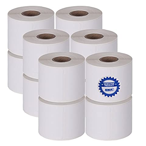 Dymo Compatible 1760756 2 1/4in X 4in Name Badge Labels 250 Per Roll By Kenco Label (1 PACK) (12 - 250 Badge