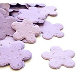 Lavender Five Petal Plantable Seed Confetti Value Pack (two 350 piece bags = 700 pieces)