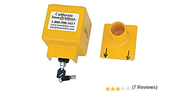 California Immobilizer G00109 Universal Coupler Lock