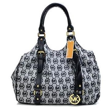 Amazon.com: michael kors redondo MK Logo bolsa de cinturón ...