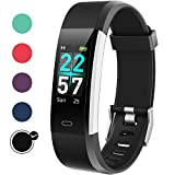 Glymnis Fitness Tracker Activity Tracker Waterproof IP68 Fitness Band Step Tracker with Heart Rate Monitor Step Counter Calorie Counter Pedometer for Men Women Kids