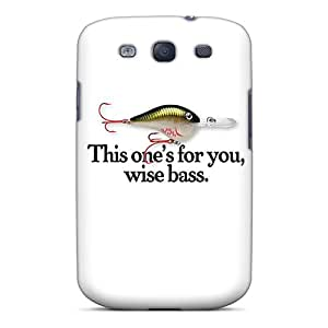 New Fish Bait Tpu Skin Case Compatible With Galaxy S3