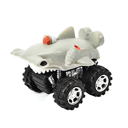 Shaped Animals Zoo Puzzle (Theshy Mini Vehicle Animal Pull Back Cars with Big Tire Wheel Creative Gifts for Kids Gift for Kids and Adults Learning Educational Toys)