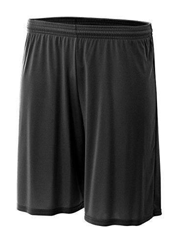 (A4 N5244-BLK Cooling Performance Shorts, XX-Large, Black)