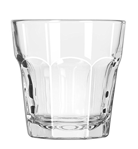 Libbey 15241 Gibraltar DuraTuff 7 oz Rocks Glass - 36 / CS Libbey Glassware