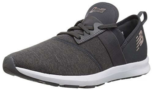 New Balance Girls' Nergize V1 FuelCore Cross Trainer, Magnet, 2 M US Little Kid