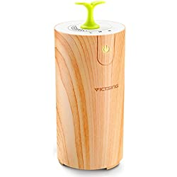 Car Oil Diffuser, VicTsing Pure Essential Waterless Oil Diffuser, USB Car Aroma Diffuser for Car, Small Bedroom, Pets room, Bathroom, Office and Home
