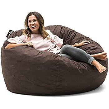 Amazon Com Big Joe 0010656 Large Fuf Foam Filled Bean Bag