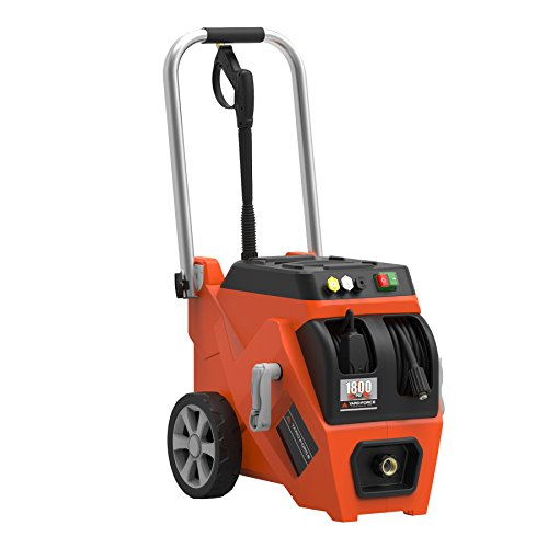 SALE Yard Force 1800 PSI Electric Pressure Washer with Live Hose Reel and Turbo Nozzle