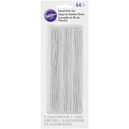 Wilton 1005-4456 Floral Wire Set, 6