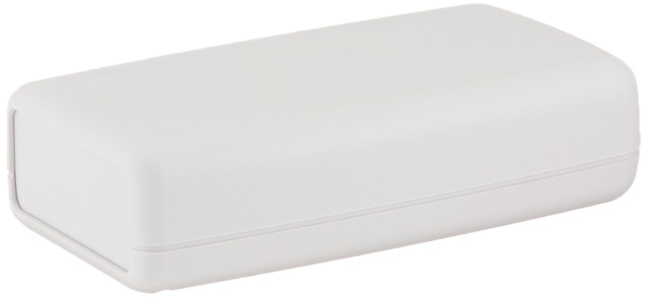 Serpac H67 ABS Plastic Enclosure, 4.94'' Length x 2-3/4'' Width x 1-9/32'' Height, Gray