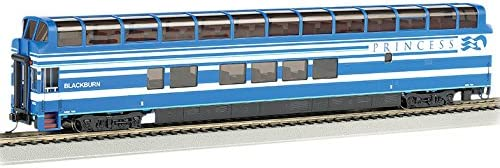 Bachmann Industries 89 Colorado Railcar Full-Dome Passenger Car with Lighted Interior Princess