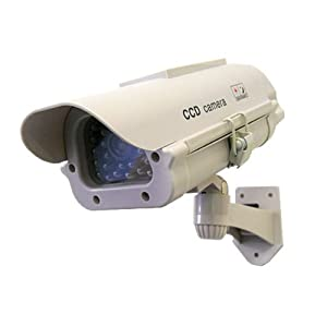 高性能 ダミーカメラ 充電式 ソーラーパネル搭載で電池交換不要 防犯カメラ 監視カメラ