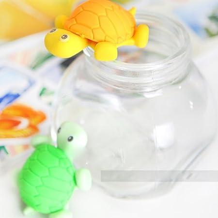 Lindo HuaYang tortuga 3d diseño limpiador limpiaparabrisas de goma borrador escrito dibujo (color al azar: 1 pieza): Amazon.es: Oficina y papelería