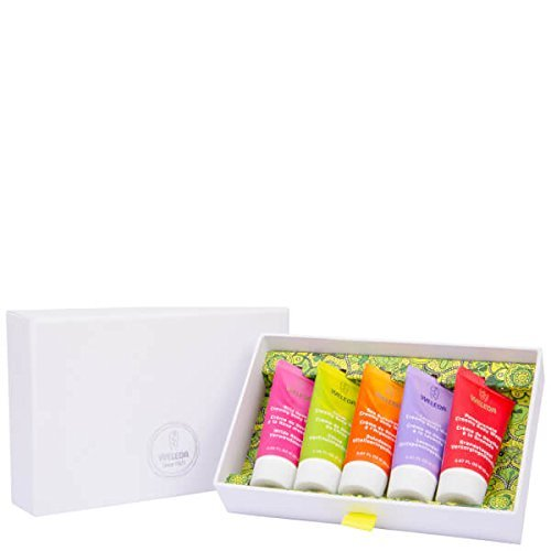 WELEDA - Mini Body Washes Draw Pack - Perfect Gift Idea - NaTrue Certified - Gift Case - 5 x 20ml