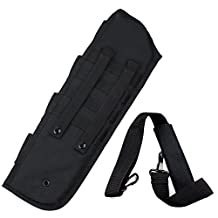 Viriber Tactical Breacher's Hunting Shotgun Scabbard Molle With Shell Pouch For Short Barrel