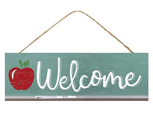 GiftWrap Etc. Wooden Elementary School Welcome Sign - 15
