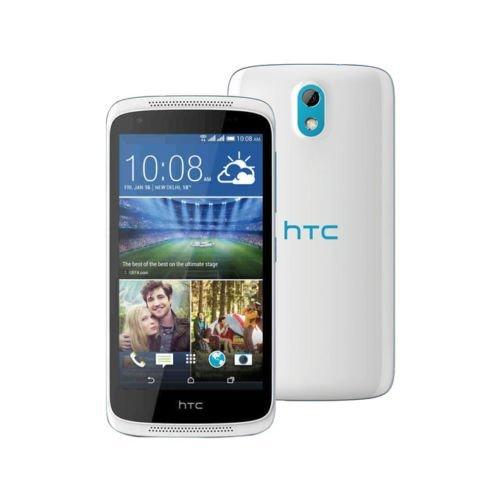 HTC Desire 526G+ Dual Sim 3G 16GB White Blue (New Unlocked Htc Cell Phones)