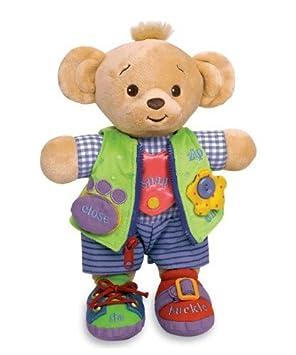 Genius Juguetes para bebés a aprender a vestirse muñeca Bearemy Oso: Amazon.es: Bebé