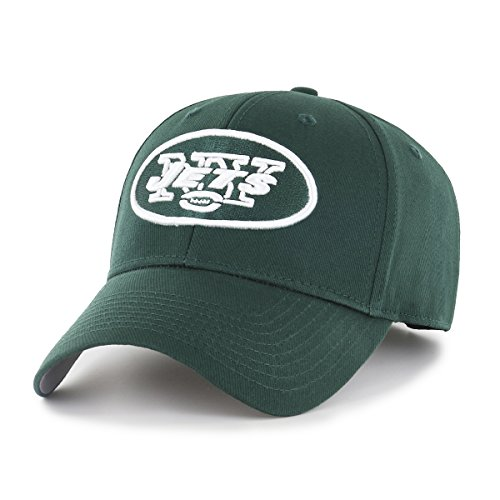 NFL New York Jets OTS All-Star MVP Adjustable Hat, Dark Green, One Size