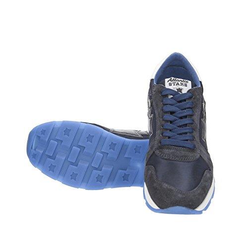 Atlantic Stars , Herren Sneaker New Bomber Navy Blue