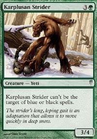 Magic: the Gathering - Karplusan Strider - Coldsnap - Foil by Magic: the ()