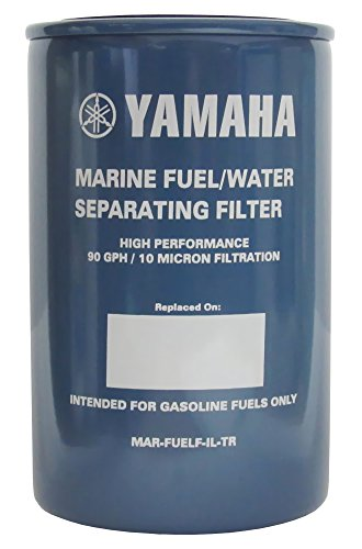 Yamaha Outboard MAR-FUELF-IL-TR 10-Micron Fuel Water Separating Filter 90GPH (Stabilizer Yamaha Fuel)