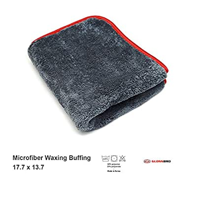 GLOSSBRO Ultra Soft Buffing Towel: Automotive