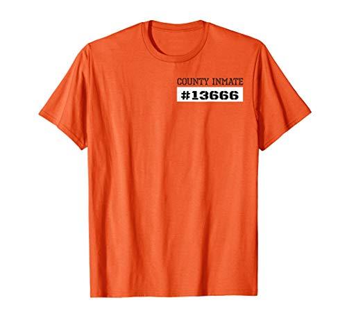 Prisoner Costume Shirt | Orange County Inmate Prison