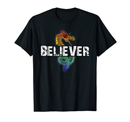 Dragon Believer Shirt - Imagine that gift for Dragons ()