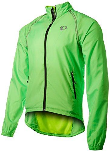 - Pearl Izumi - Ride Ride Men's Elite Barrier Convertible Jacket, Screaming Green, Medium