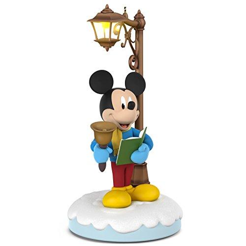 Hallmark Keepsake Christmas Ornament 2018 Year Dated, Disney Christmas Carolers Merry Mickey With Music, Light and Motion (Merry Duck Christmas)