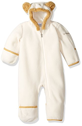 Bunting Baby Costumes - Columbia Kids Unisex Tiny Bear¿ II Bunting (Infant) Chalk/Lion 6-12