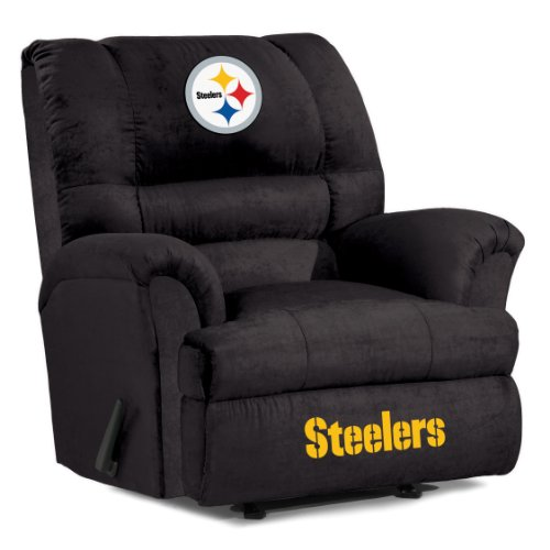 Pittsburgh Steelers Recliner Steelers Leather Recliner