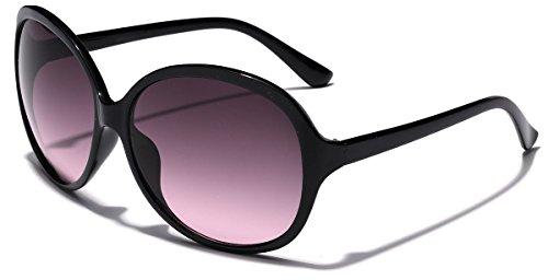 Round Women's Retro Fashion Sunglasses