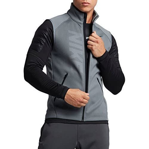 f1c090fe9e NIKE Men's Therma Sphere Training Vest Cool Grey [5WarK0211839] - $44.99