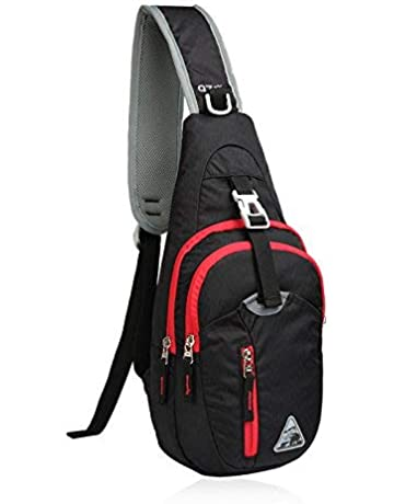 d3ae900c5e39 Kimlee Crossbody Pack Chest Shoulder Sling Backpack One Strap Lightweight  Pouch Day Bag Outdoor