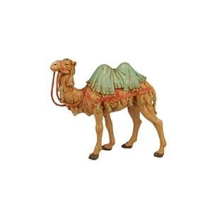 Fontanini 7.5 Standing Camel Christmas Nativity Figurine #52744 by Roman