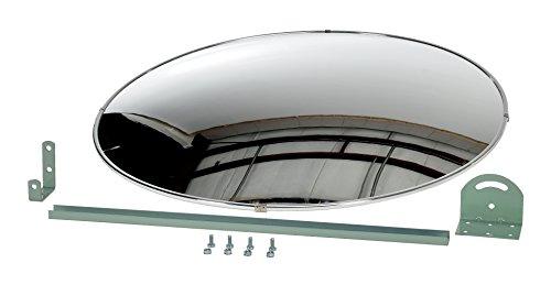 Vestil CNVX-30 Industrial Round Acrylic Mirror, 30