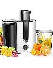Aigostar Entsafter Elektrisch Gemüse und Obst,Citrus Juicer,BPA-Frei