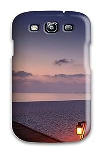 MaryannVillanueva Case Cover Protector Specially Made For Galaxy S3 Wooden Bridge On The Edge The Shore