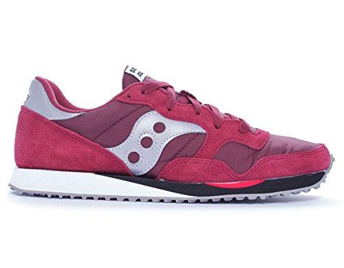 Saucony DXN Trainer unisex erwachsene, wildleder, sneaker low Burgundy