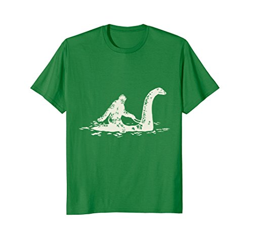 Bigfoot Sasquatch Riding Monster T Shirt