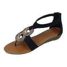 New Starbay Brand Women's Gladiator Fashion Zip Up Sandals
