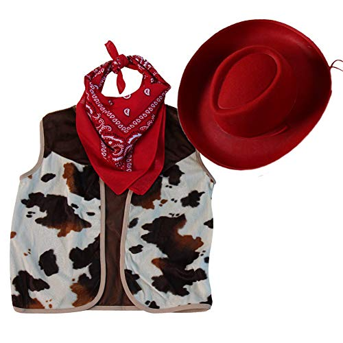 Easy Cowgirl Costumes Ideas - Making Believe Kids Western Rodeo Cowboy