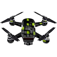 Skin For DJI Spark Mini Drone – Cubes | MightySkins Protective, Durable, and Unique Vinyl Decal wrap cover | Easy To Apply, Remove, and Change Styles | Made in the USA